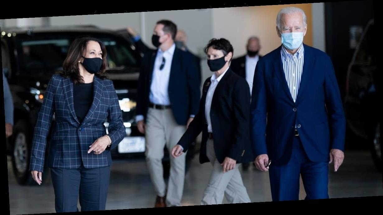 Kamala Harris and Joe Biden Experiment With Subtle Outfit Coordination, Pulling It Off Like Pros