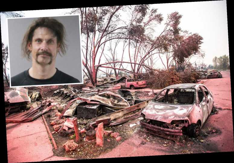 Arsonist faces more than 100 years in jail for starting massive Oregon fire that killed two and destroyed homes