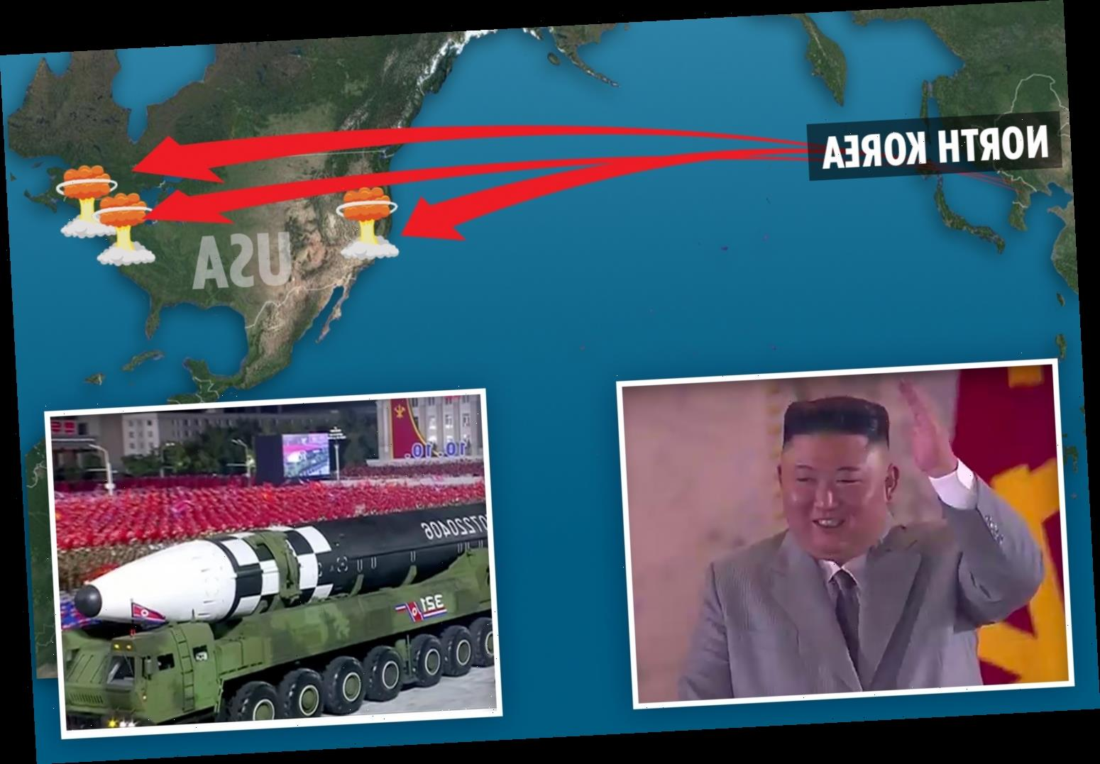 North Korea's new missile is world's biggest mobile ICBM, can reach any US city and would kill 1.5m in secs, expert says
