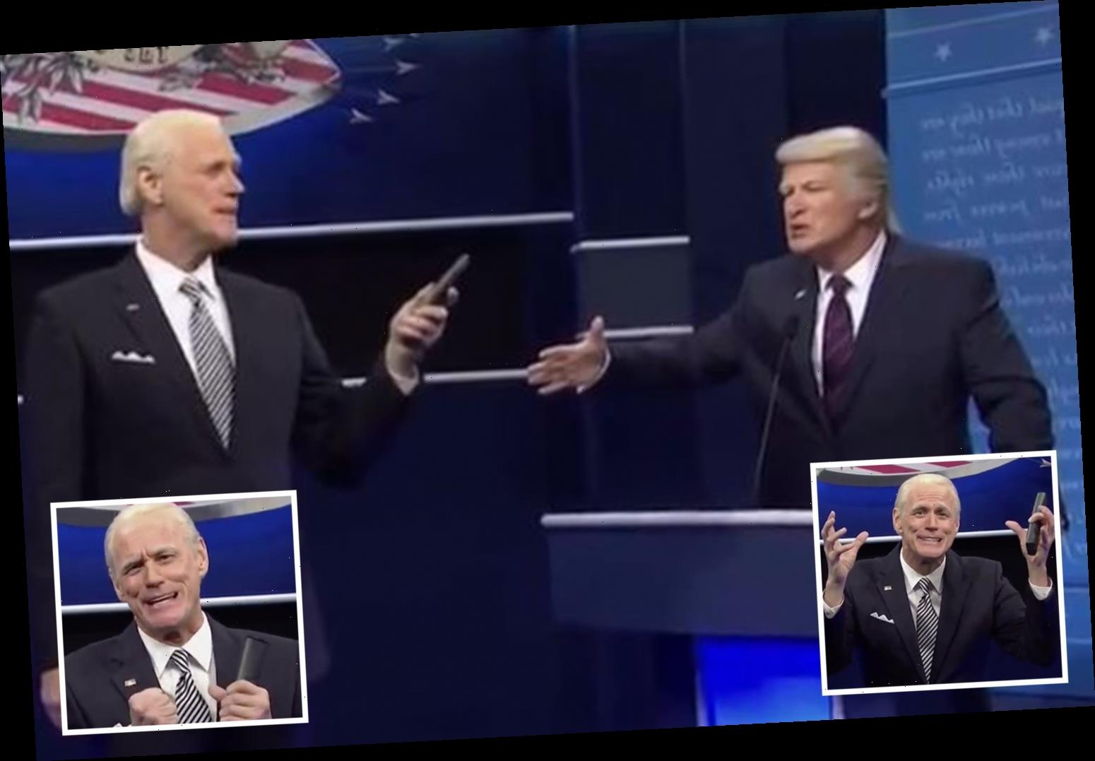 Jim Carrey makes debut as Joe Biden on SNL – and shockingly revels in Donald Trump's Covid-19 diagnosis