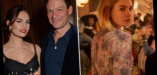Lily James cancelled ANOTHER big interview for her Netflix drama in the wake of Dominic West kiss scandal
