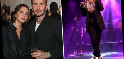 Louise Redknapp reveals she'd snog David Beckham if he wasn't married to Posh