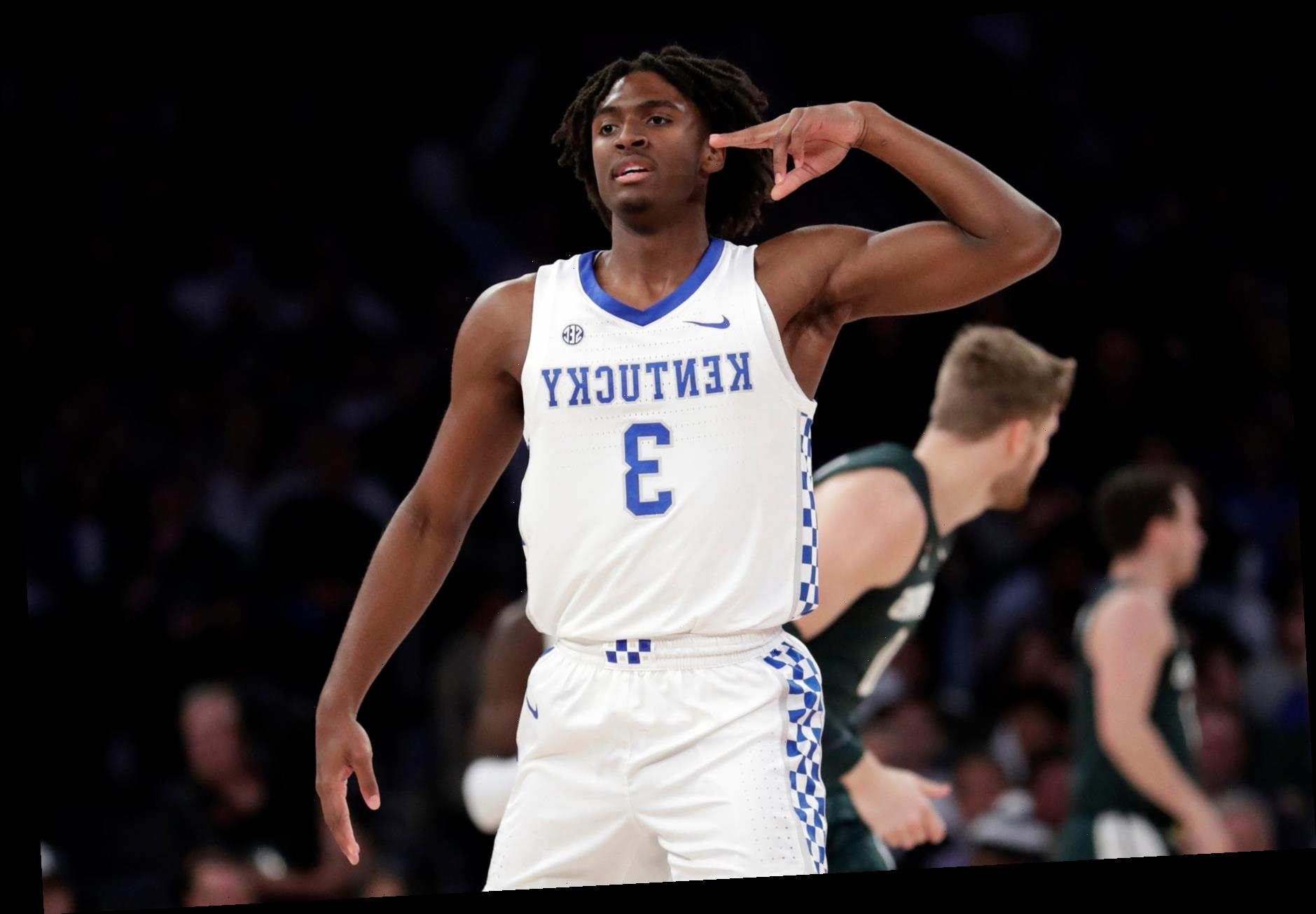 Potential Knicks draft target Tyrese Maxey dazzles in workout