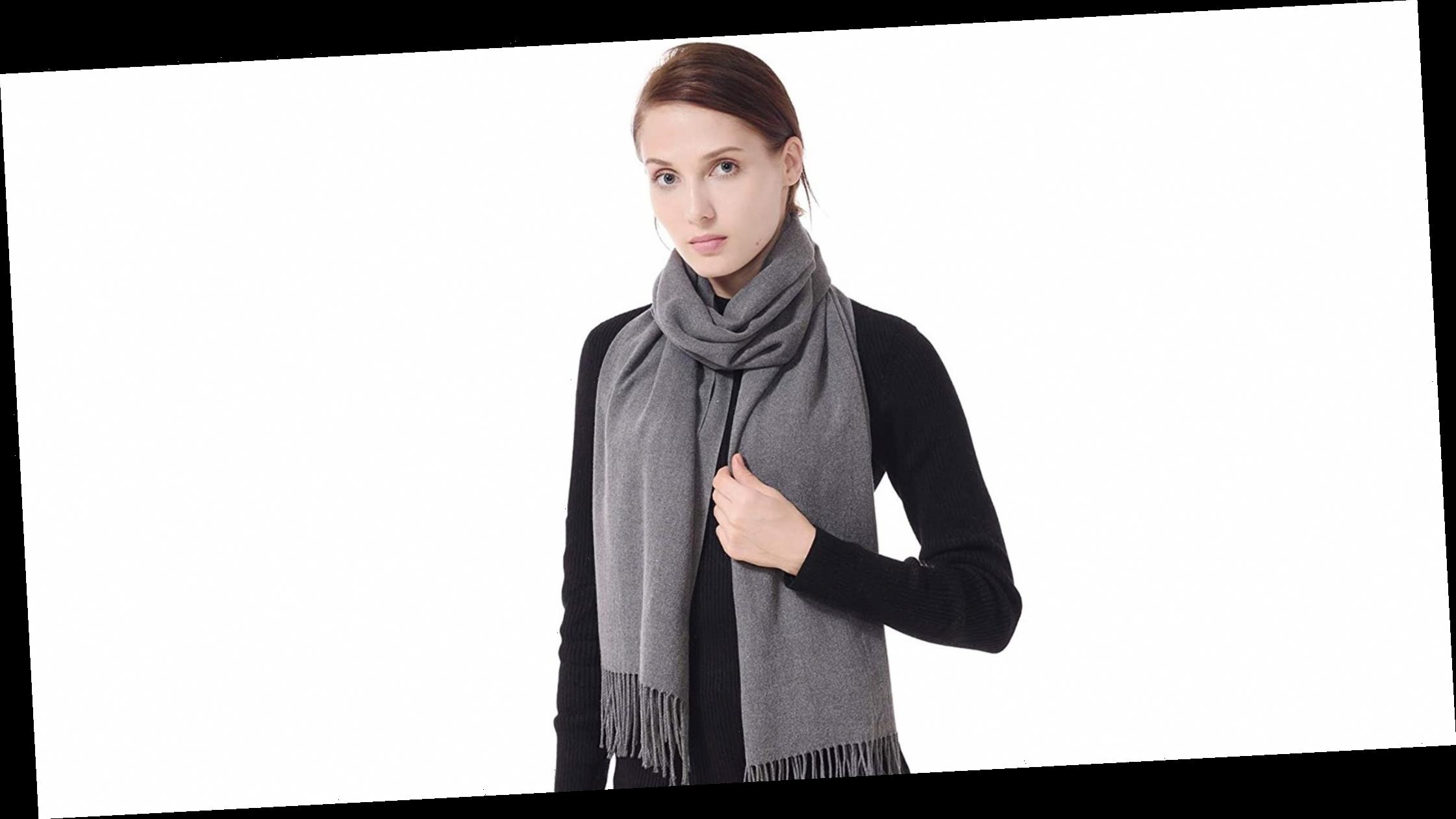 This On-Sale Cashmere Scarf Is the Perfect Holiday Gift — 40% Off!
