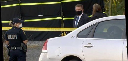 'Halloween decoration' in Maryland parking lot turns out to be dead body