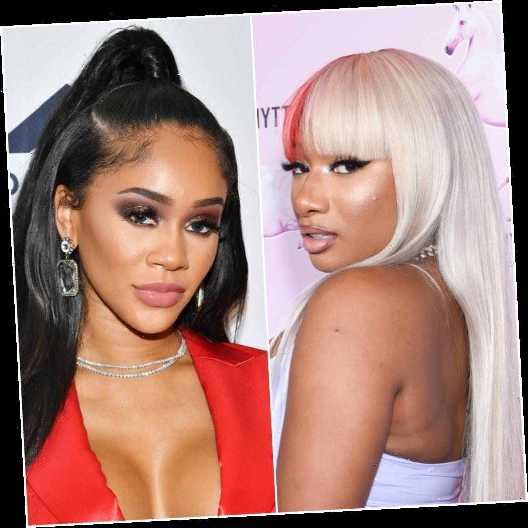 Megan Thee Stallion Accused of Shading Saweetie Over Her YouTube Series