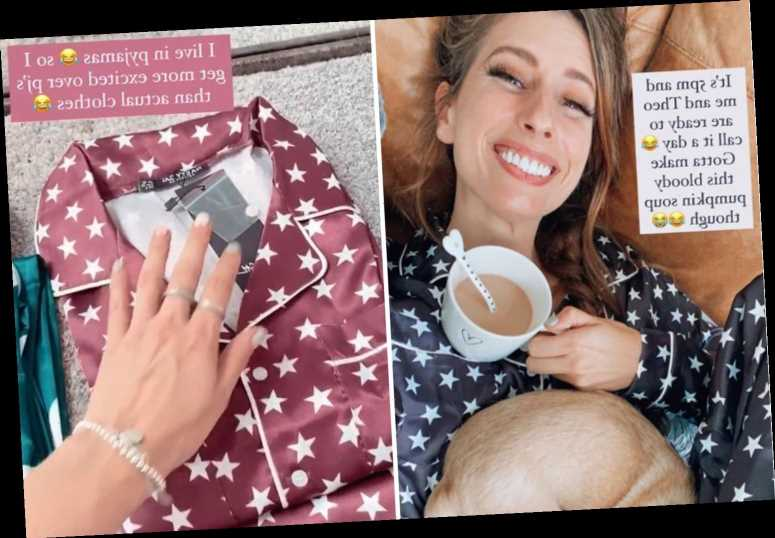 Stacey Solomon shows off huge silky PJ haul after 'treating myself for my birthday' – with prices from £17 – The Sun