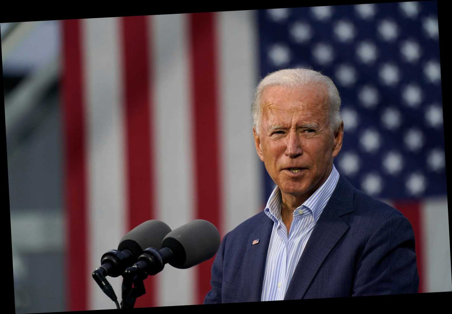 Biden hints he WON'T accept election defeat saying 'only way' he can lose is through vote tampering