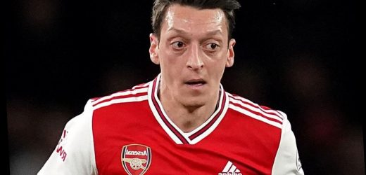 Mesut Ozil puts support behind ending child poverty as Arsenal star donates 1,400 meals a DAY to 11 North London schools