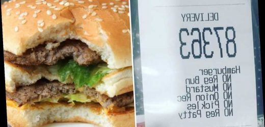 Hungover woman tailors her McDonald's burger order & people can't stop laughing when they see the result