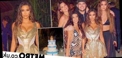 Kim Kardashian slammed for flying to private island for 40th birthday