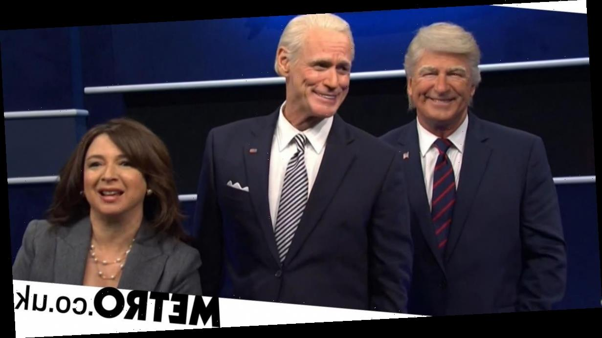 Jim Carrey's Joe Biden makes SNL debut and it's as chaotic as you'd expect