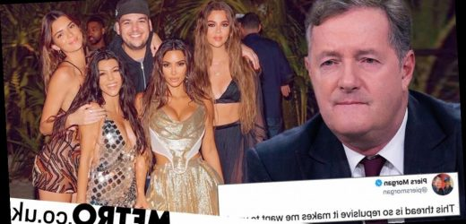 Piers Morgan rips into 'tone-deaf imbecile' Kim Kardashian over birthday