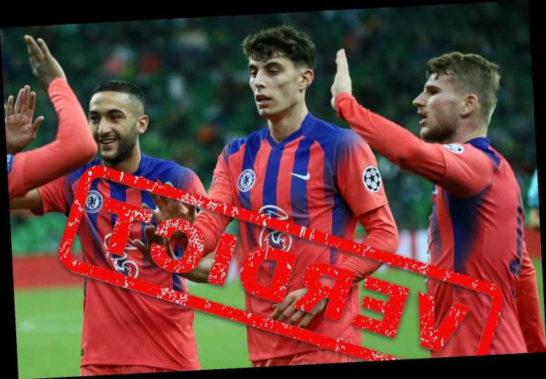 Chelsea lack chemistry but Ziyech, Werner and Havertz show they will be lethal when they click