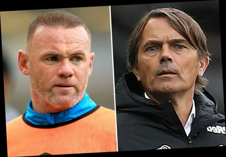 Man Utd legend Wayne Rooney in line for Derby job as Rams chiefs lose patience with manager Phillip Cocu