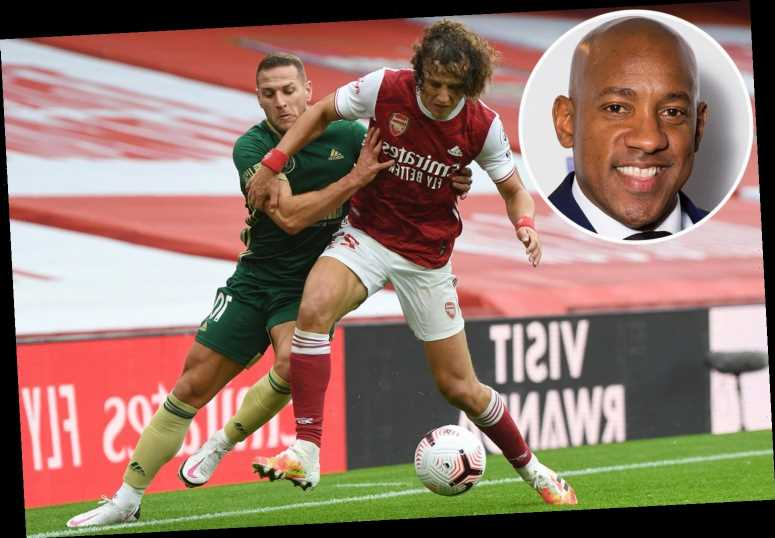 Dion Dublin apologises to 'leader' Arsenal defender David Luiz for 'giving him so much stick over the years'