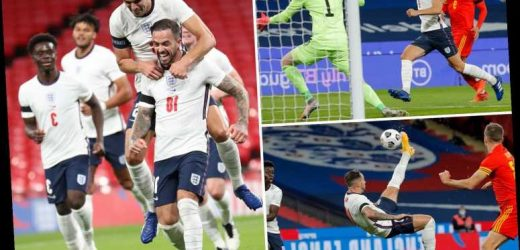 England 3 Wales 0: Watch Danny Ings score brilliant bicycle kick as Three Lions dominate Dragons