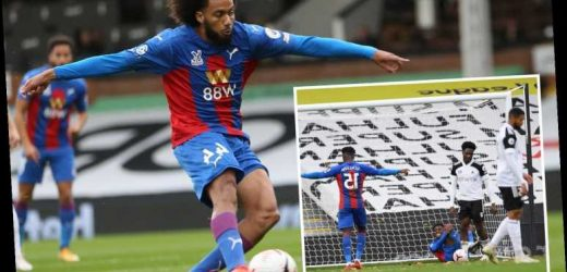 Fulham 1 Crystal Palace 2: Zaha and Riedewald combine to send Eagles soaring to fifth while Cottagers remain bottom