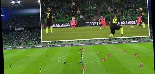 Krasnodar players blasted as only FOUR take knee in support of Black Lives Matter before Chelsea clash