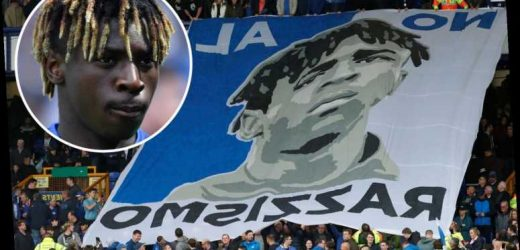 Moise Kean 'not particularly upset to leave England' after joining PSG on loan – but admits Everton banner moved him