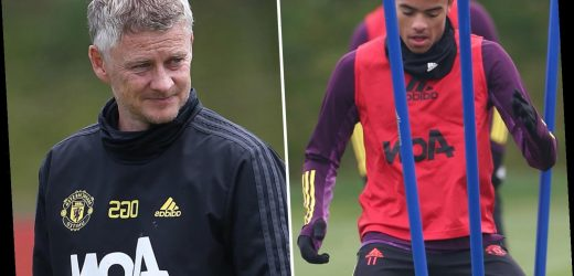 Solskjaer sick of Mason Greenwood's attitude with Man Utd striker late for training TWICE before recent axe