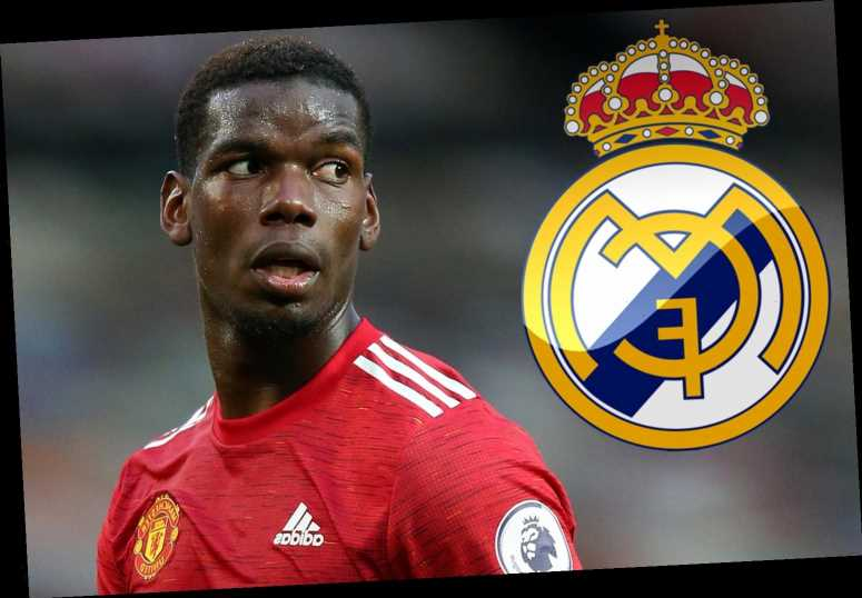 Man Utd star Paul Pogba confirms he'd like Real Madrid transfer 'one day' but insists he's happy at Old Trafford