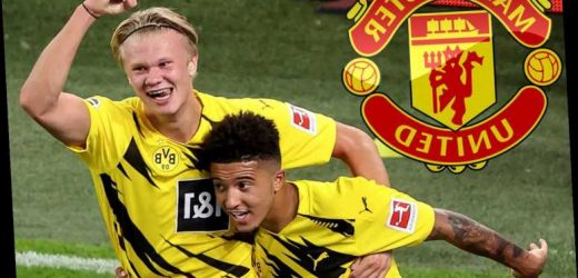 Man Utd boss Solskjaer plots double transfer swoop for Haaland and Jadon Sancho after growing 'frustrated' with board