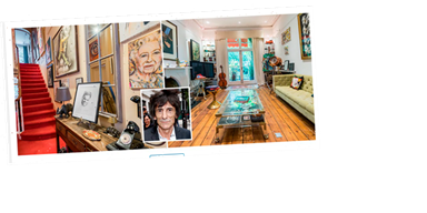 Inside Rolling Stones star Ronnie Wood's incredible London home as he puts it up for sale for £3.5m