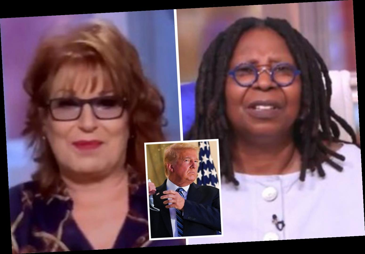 The View's Whoopi Goldberg & Joy Behar claim Trump is LYING about having Covid as his speedy recovery is 'suspicious'
