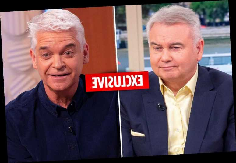 Phillip Schofield reignites Eamonn Holmes feud by spelling his name wrong in new book