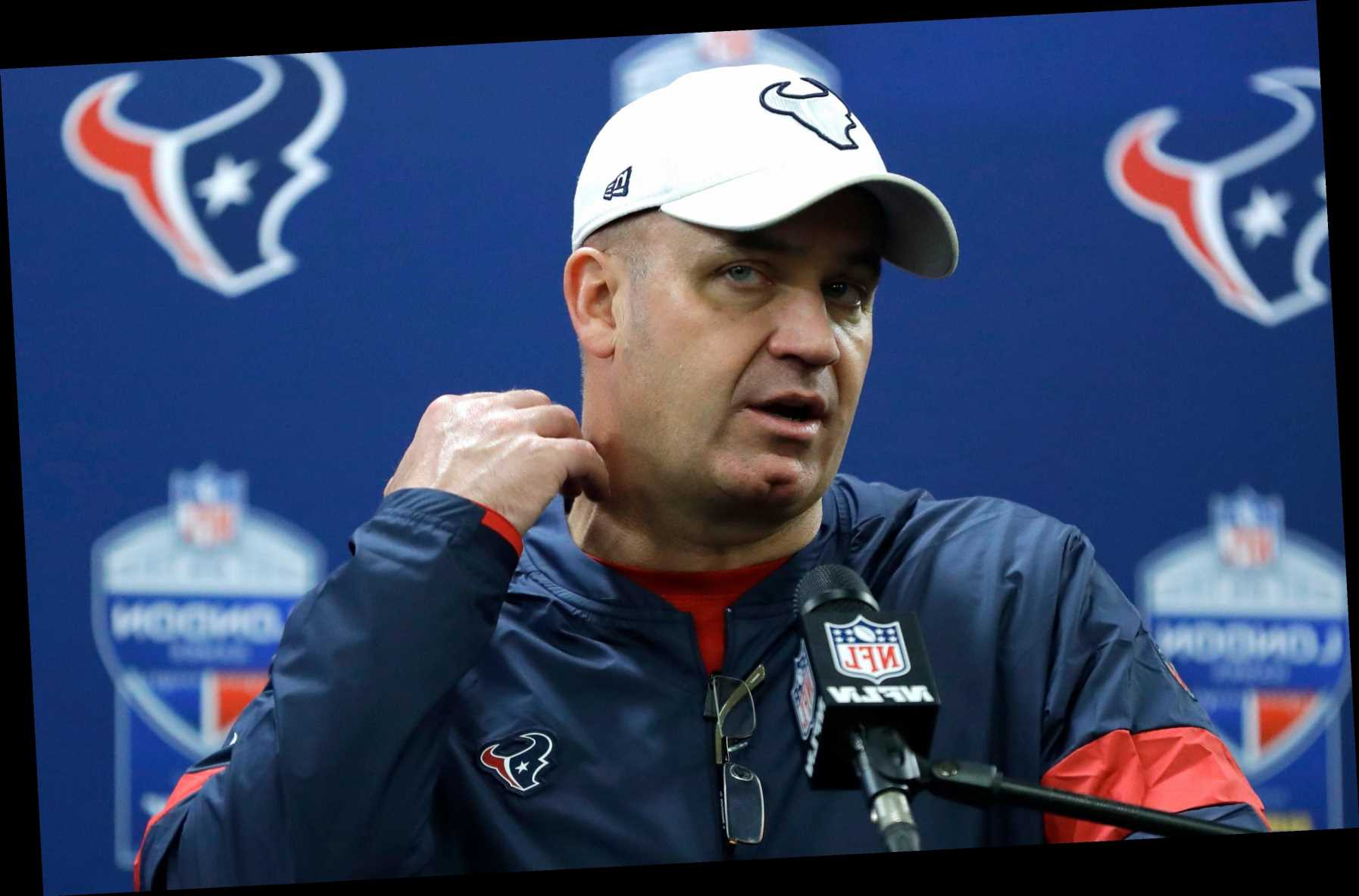 Texans fire Bill O'Brien after slow start, confusing trade