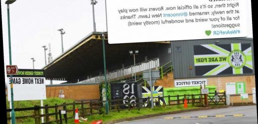 Forest Green Rovers set to spark fan anger and ignore stadium name poll… as people voted for it to be called Kevin