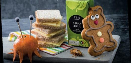 Kids eat free at M&S cafe this half term if parents spend over £3 on food