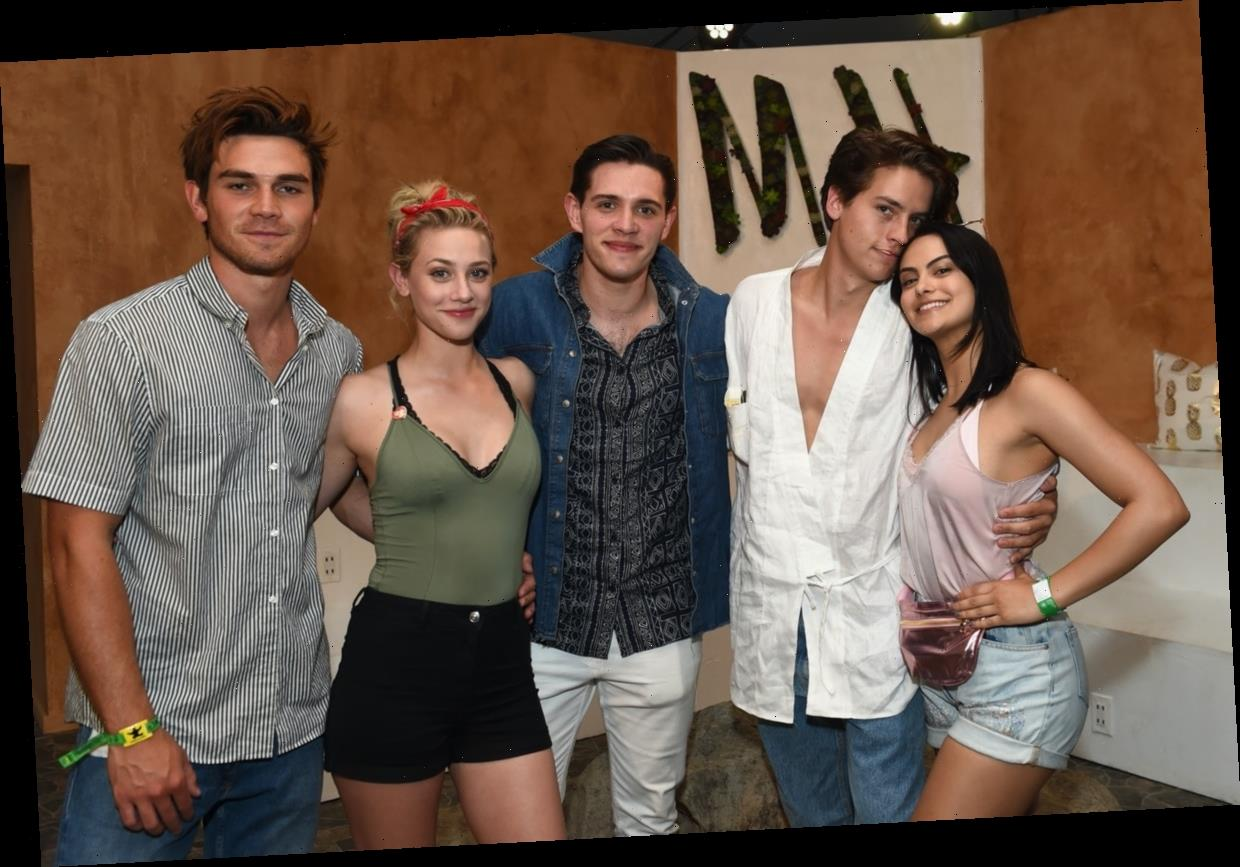 Cole Sprouse & Lili Reinhart's Mutual Friends Are So Interconnected