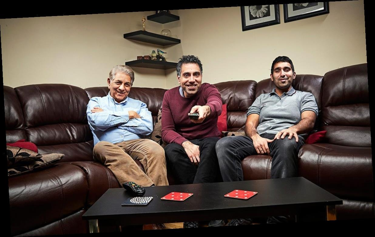 Sid Siddiqui offers fellow Gogglebox star Dave Griffiths advice on hairdo