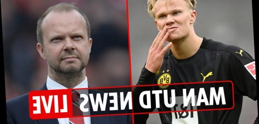 3.45pm Man Utd news LIVE: Woodward 'TURNED DOWN' Haaland in Jan, Sancho now top transfer target, Rashford receives MBE – The Sun