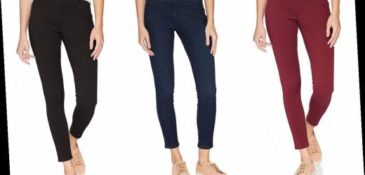 These Ultra-Comfortable and Flattering Jeggings Are on Sale for Just $16 Today Only