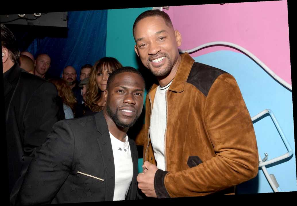 Kevin Hart Says Doing Trains, Planes and Automobiles Remake with Will Smith Was 'No-Brainer'