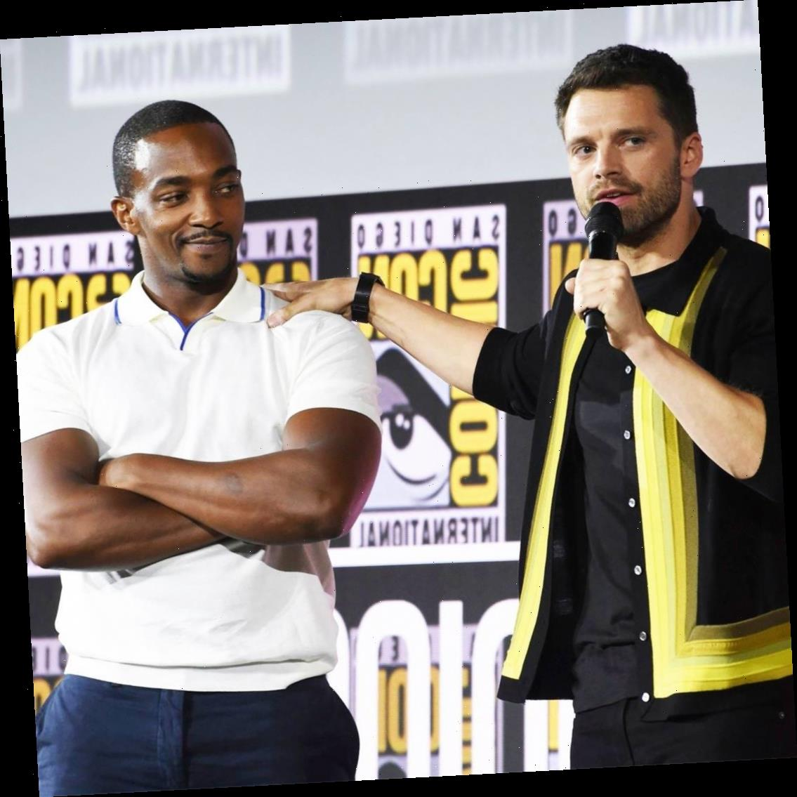 Anthony Mackie Reveals How His Marvelous Bromance With Sebastian Stan Began