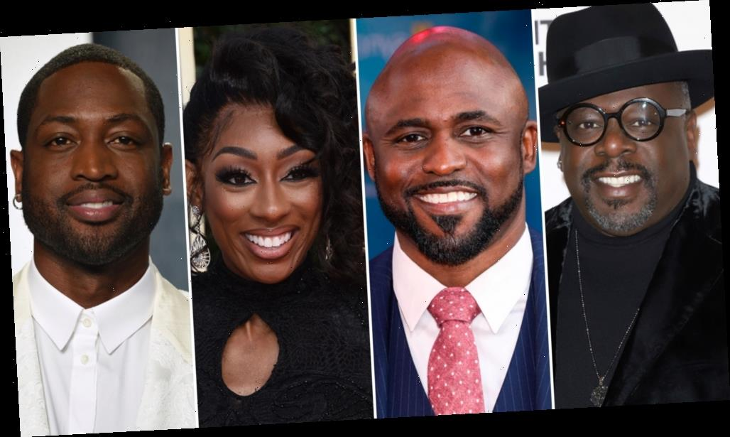 'Zoom Where It Happens' Sets 'Sanford And Son' Table Read With Cedric The Entertainer, Wayne Brady, LaLa Milan And Dwyane Wade