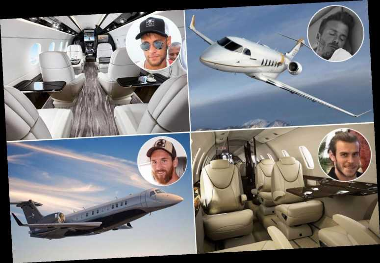 Cristiano Ronaldo, Lionel Messi and Neymar all have their own private jets… but who owns the most expensive?