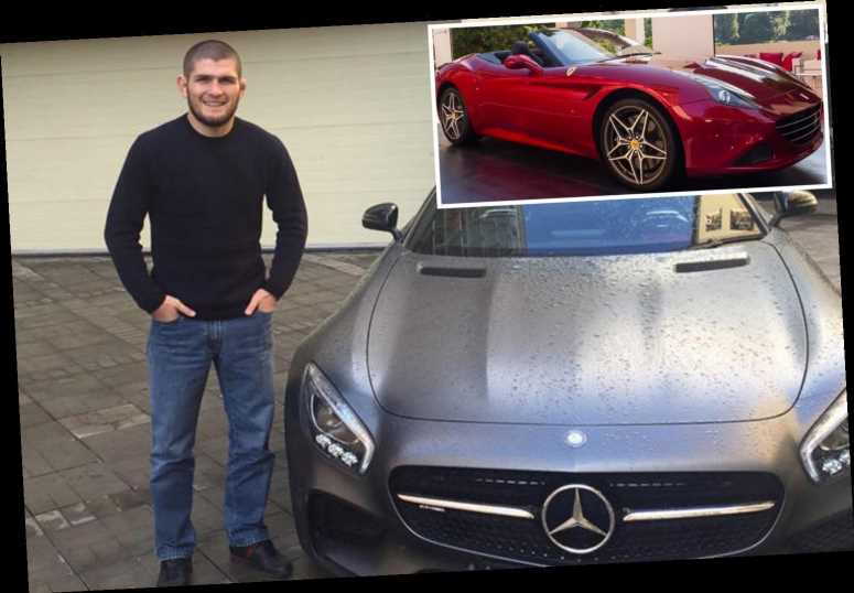 Khabib Nurmagomedov's car collection includes £150k Ferrari, £138k Mercedes and a Lada he sold to fund his MMA career