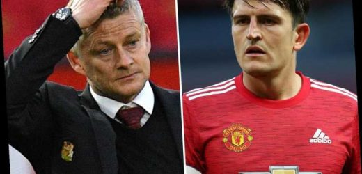 Man Utd captain Harry Maguire 'pleads with Ole Gunnar Solskjaer to keep him in the team' amid horror run of form