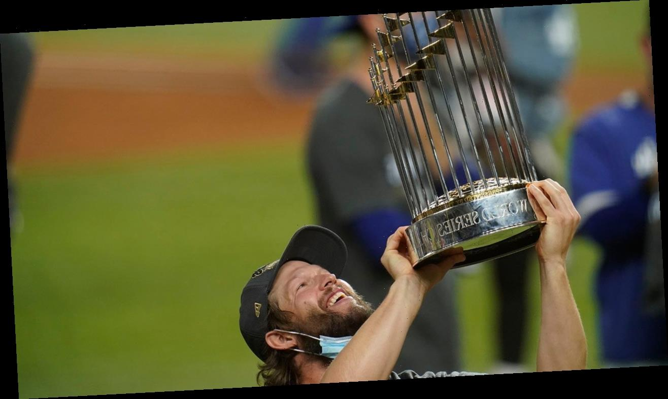 Clayton Kershaw lifts World Series trophy, quiets critics for now