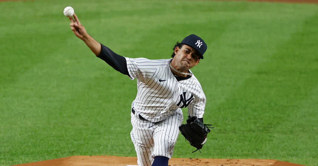 The Yankees Turn to a 21-Year-Old Rookie for His Unflappability