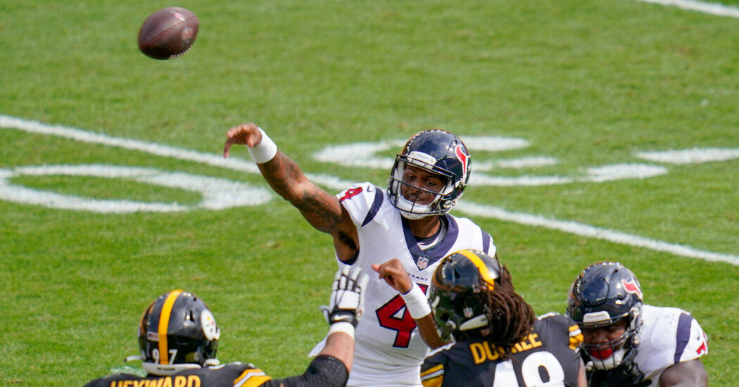 What to Watch for in N.F.L. Week 4