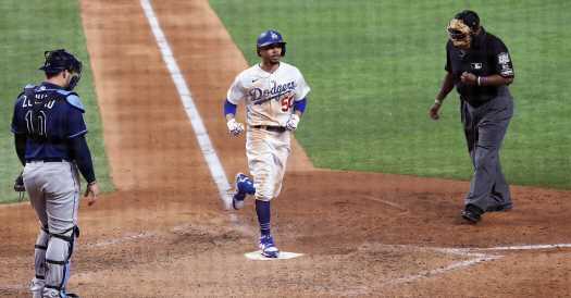 The Dodgers piled on the runs and seized control of the World Series.
