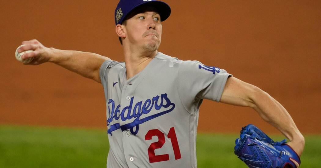World Series: Dodgers Top the Rays in Game 3 With a Stellar Pitching Performance
