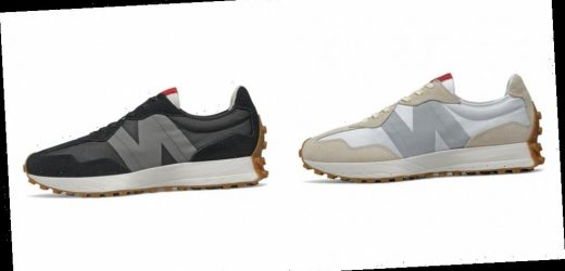 """New Balance 327 Releases in """"Turtledove/Munsell White"""" and """"Black/Castlerock"""""""