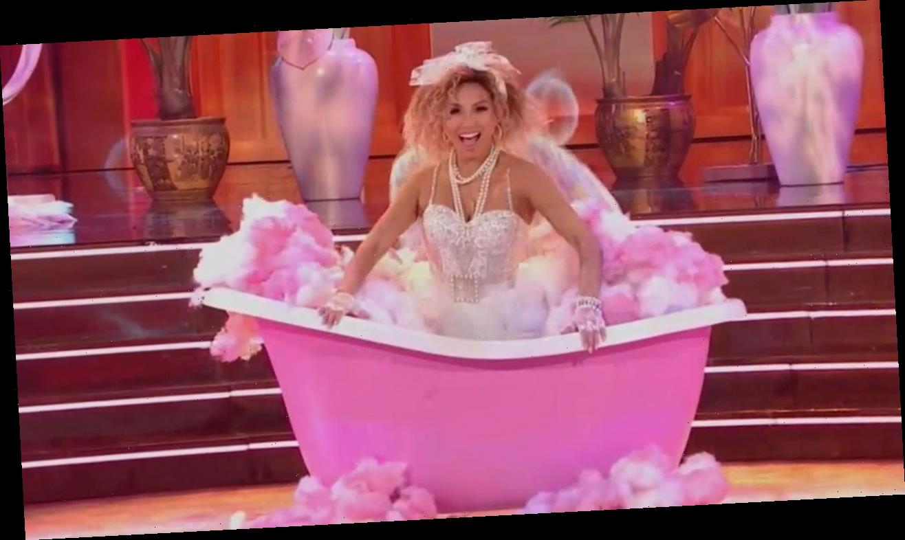 Jeannie Mai Goes Full-On Madonna for '80s Night on 'DWTS'